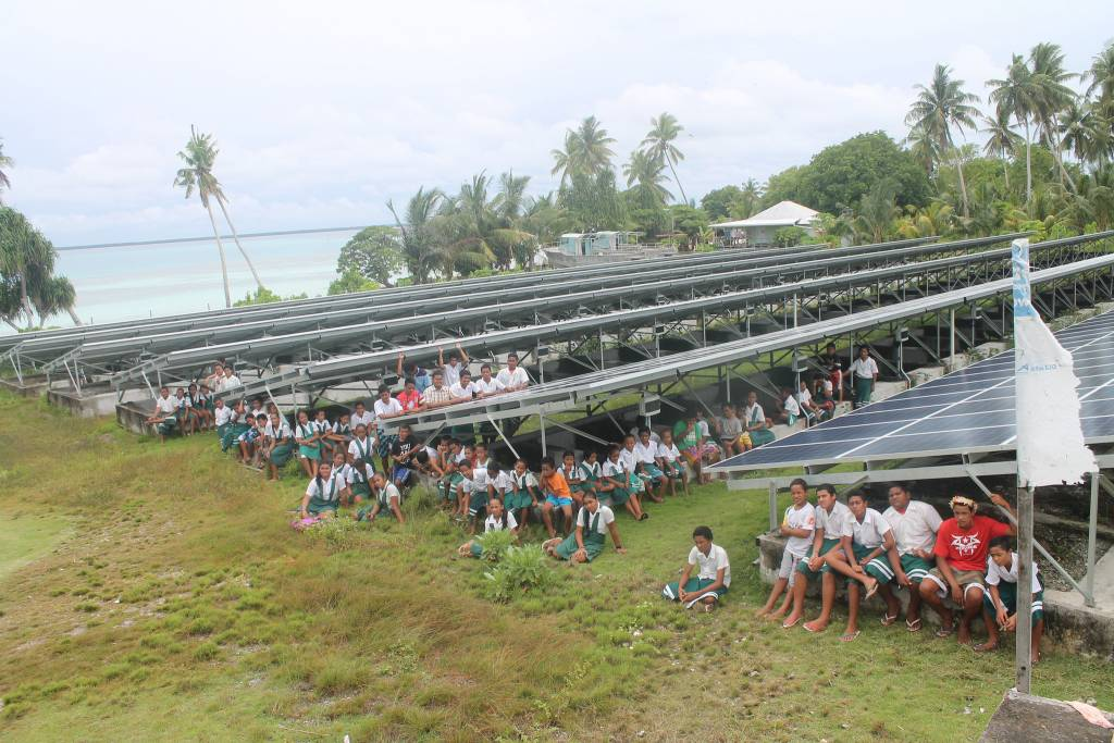 Tokelau, the first nation in the world to go 100% renewable. Photo by Litia Maiava
