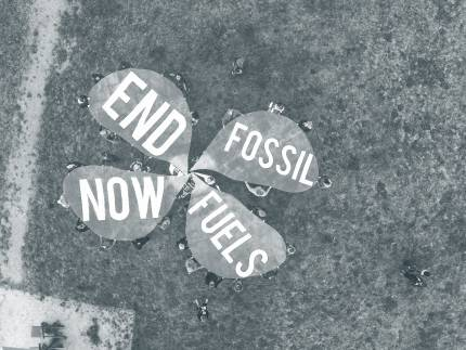 End Fossil Fuels Now artwork