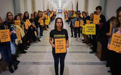 New Dems Press for Green New Deal Now