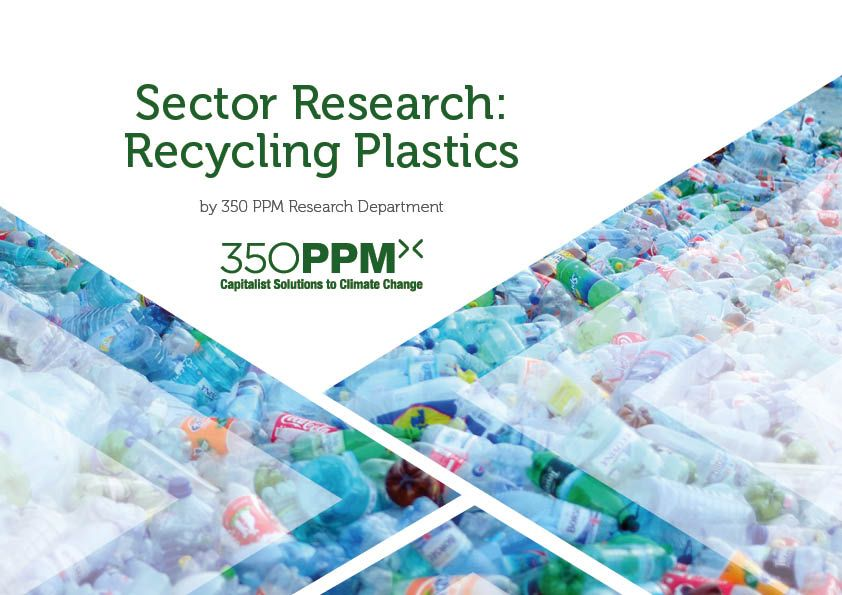 350PPM Sector Research - Recycling Plastics