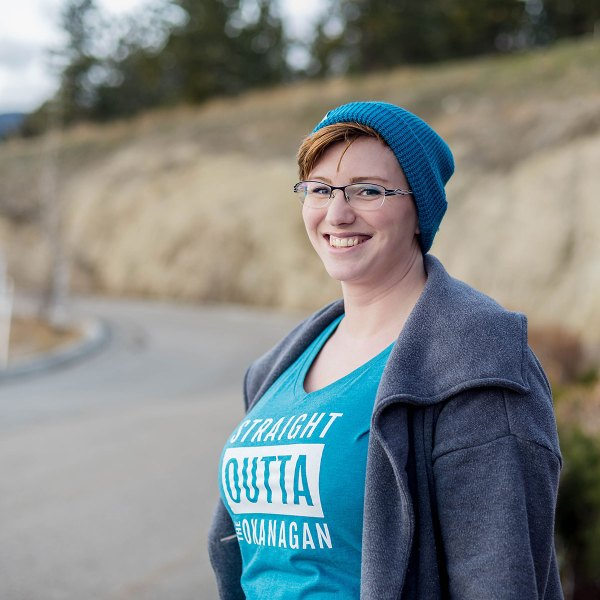 Straight Outta the Okanagan Ladies Relaxed T-Shirt | 351 Apparel