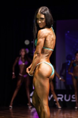 Sharelle placed first in the novice and Under 30's sportsmodel category