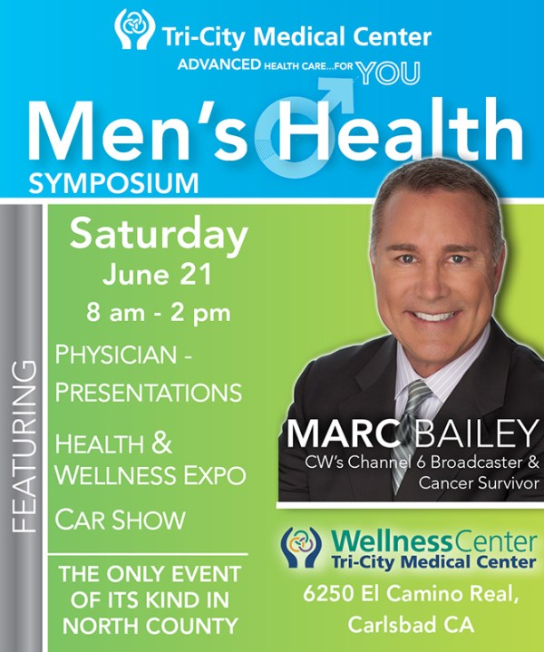Tri-City Medical Center's Men's Health Symposium - Ranch ...
