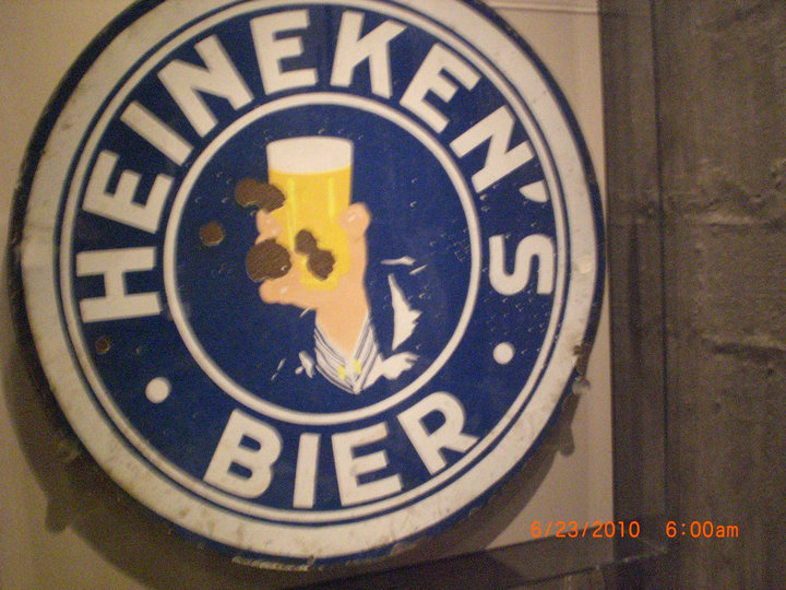 Old Heineken advertisement