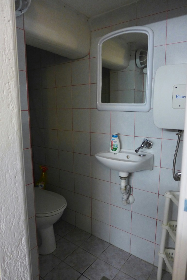 Bathroom at the top of the stairs