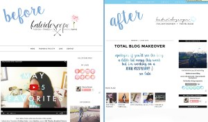 My Blog Makeover: What I've Learned