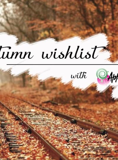 Autumn Wishlist with ApparelCandy ad