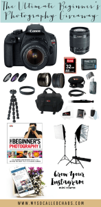 GIVEAWAY | Win a DSRL Canon Camera & Soft Lights