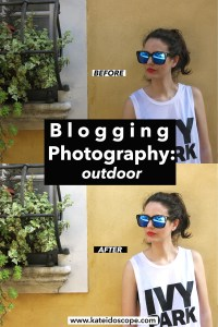Blogging Photography: Shooting Outdoor