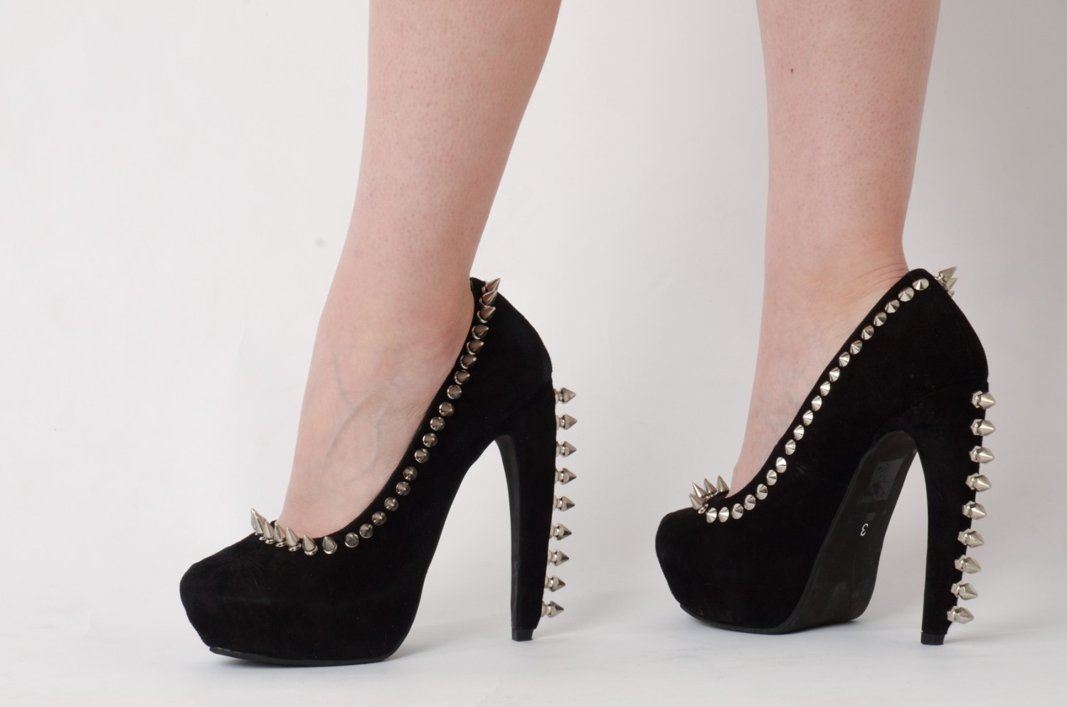The Jeffrey Campbell Studded Pumps