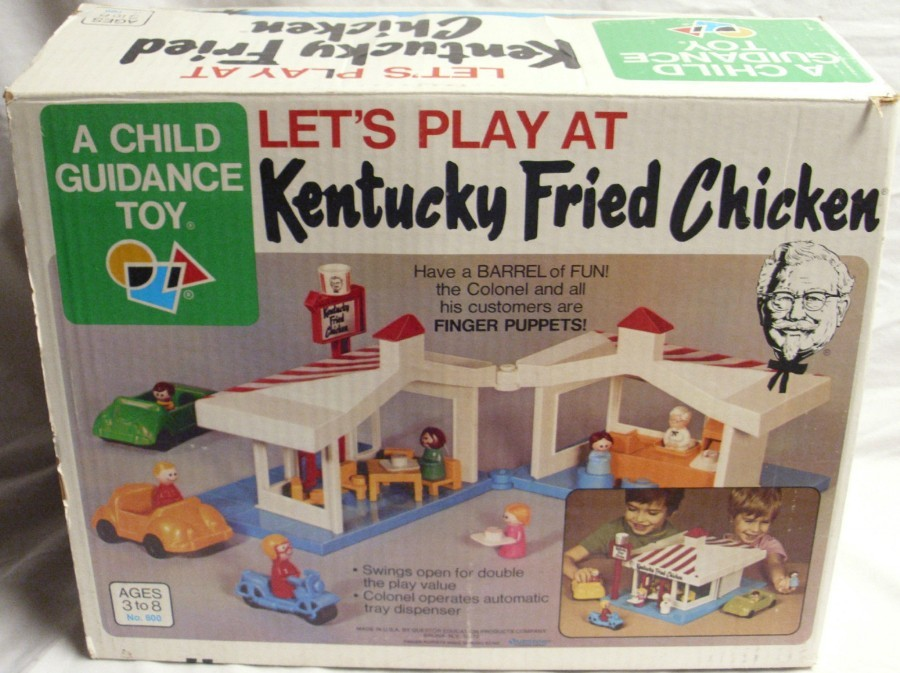 Let's Play at Kentucky Fried Chicken - 1970