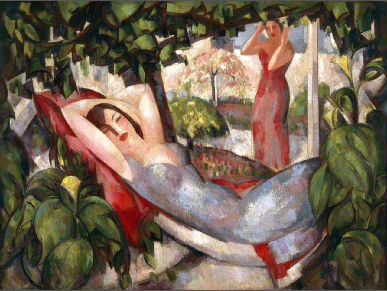 art-centric: John Duncan Fergusson - Summer