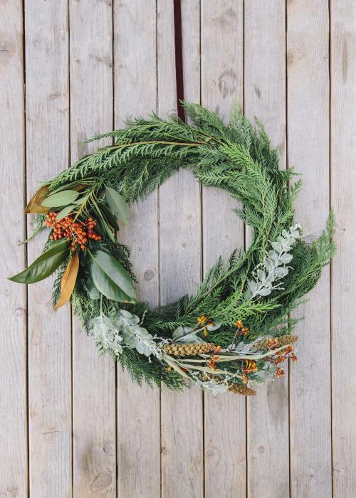DIY Succulent Wreath on Uncovet