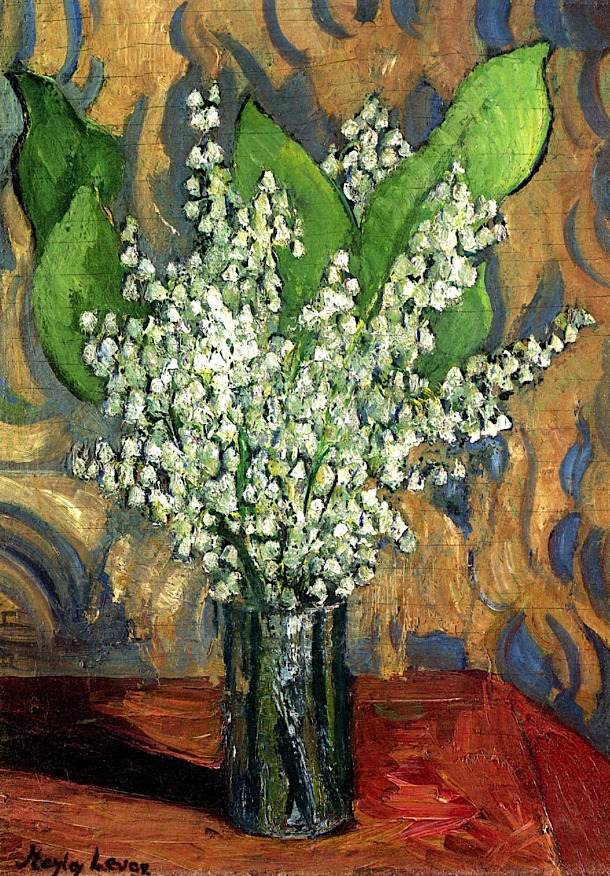 bofransson:Lilies-of-the-ValleyRichard Haley Lever - circa 1930-1949