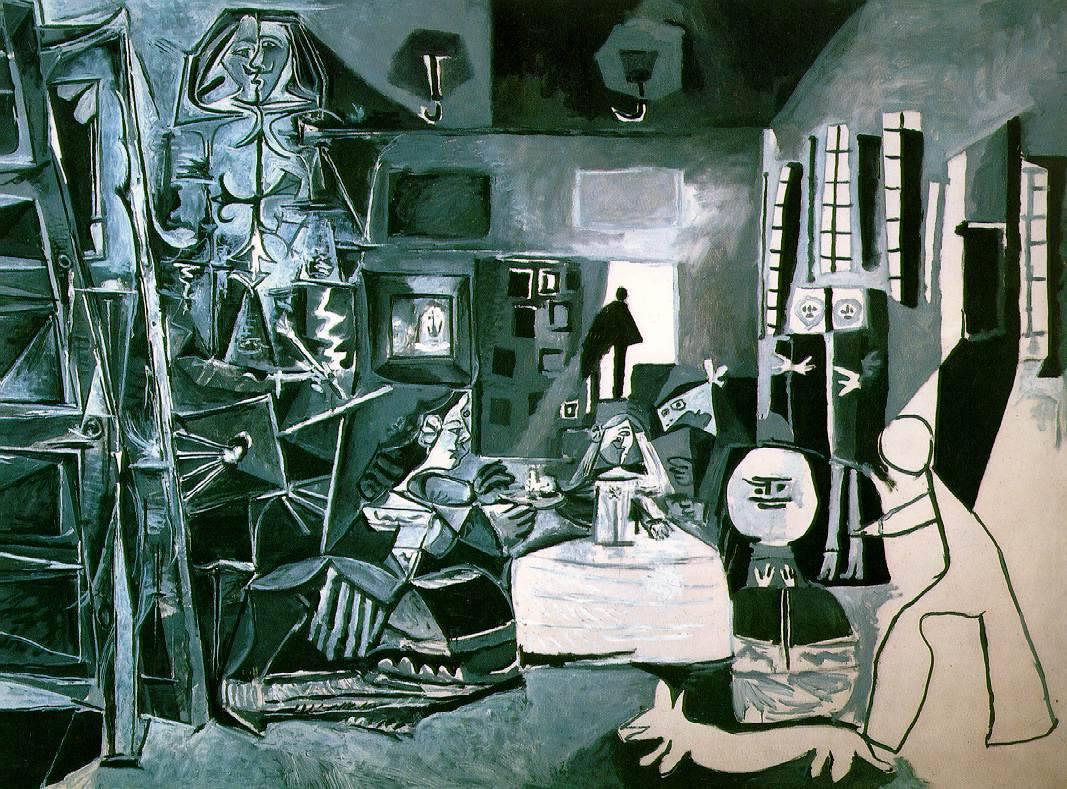 lonequixote:Las Meninas (after Velazquez)~Pablo Picasso