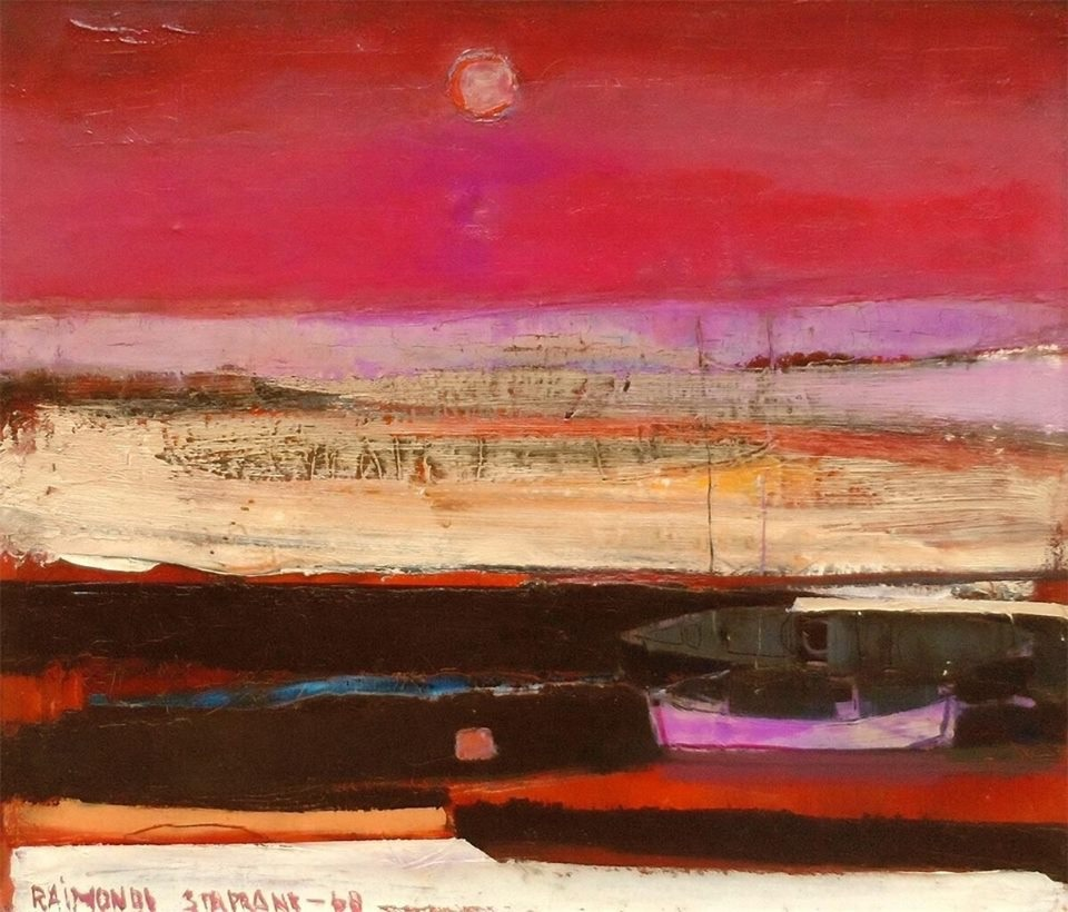 raimonds staprans- purple sunset