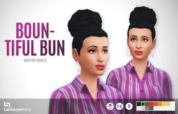 Coiffure femmes Sims 4
