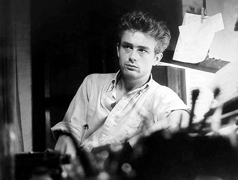James Dean, New York, 1954