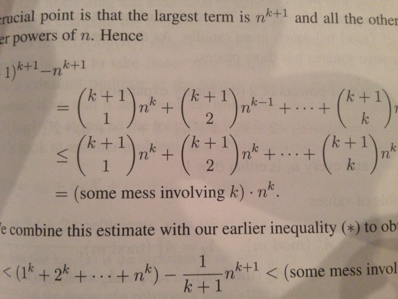 mathematicians hate writing things out