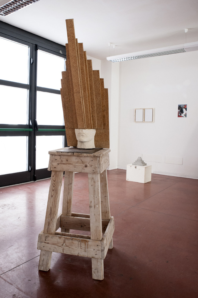 "Amedeo Desideri, Paralisi dell'Io, 2015, photo © Francesca Catastini | Massa Carrara ""Ipotenusa. Una mostra irrealizzabile"" a cura di Federica Forti, ones. office - a non exhibition space (Carolina Gestri e Francesca Vason), Stefania Rinaldi"