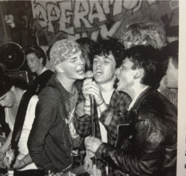 Billie Singing With Tim Armstrong During An Operation Ivy ...