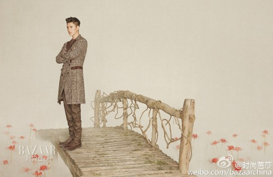 Chen Kun in Harper's Bazaar photoshoot