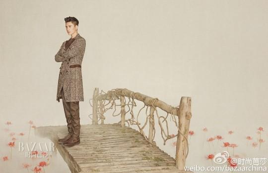 Chen Kun in Harper's Bazaar photoshoot