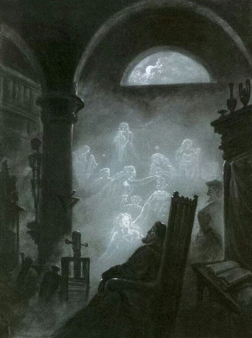 silenceforthesoul:  Carl Gustav Carus (1789-1869) - Faust's Dream   ARE WE ALONE?Are we truly alone?Friends and family.Are they with us?Beside us everyday?I can feel them.A thickness in the air.A soft touch.A slight breeze.Is my brother gone?Or is he with me?I believe he is.He chuckles at my blunders.He laughs at my jokes.He cries when I'm hurt.Yes, he is with me.Always.Forever.