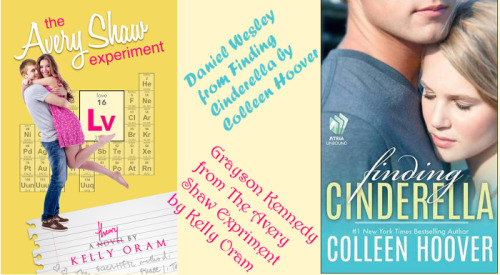 The Avery Shaw Experiment by Kelly Oram & Finding Cinderella by Colleen Hoover