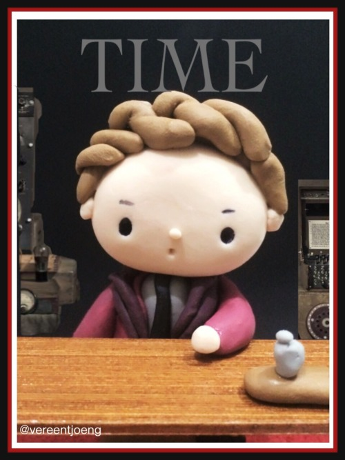 Cumbercake: Ben on TIME cover