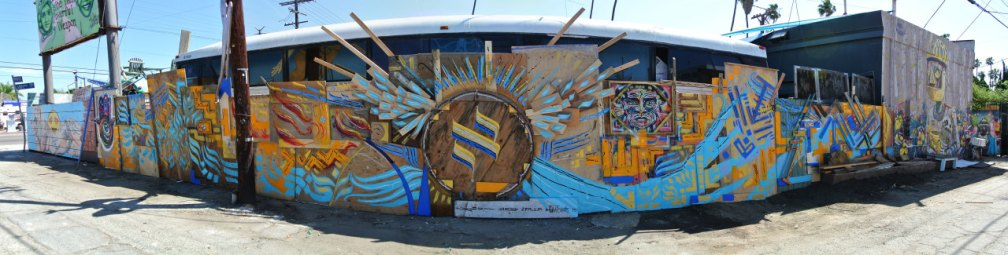 Venice spirituality mural