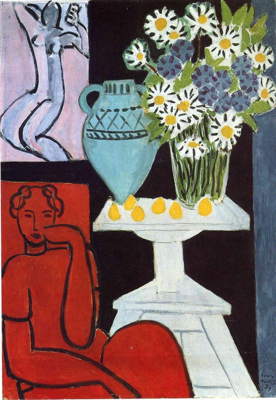 art-centric: The Daisies Henri Matisse, 1939