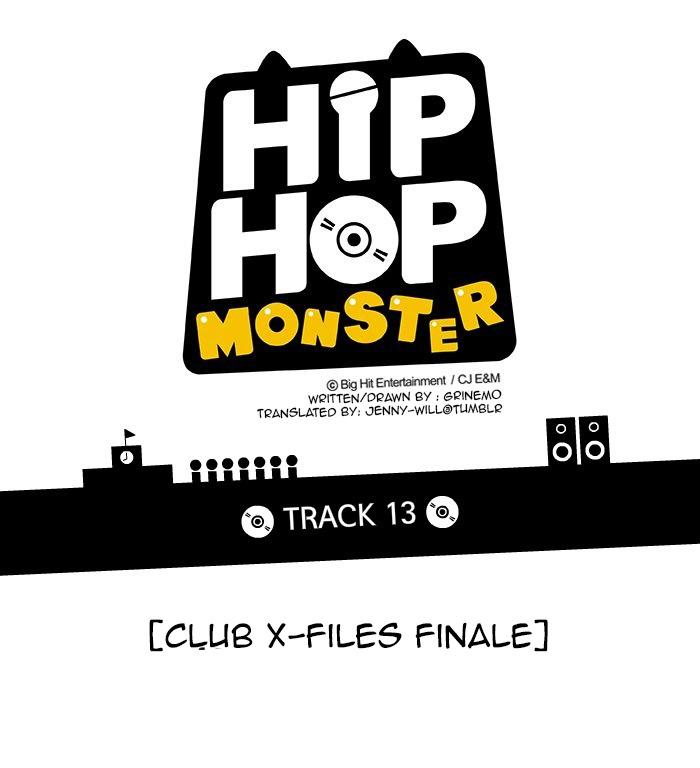 [Webtoon] Hip Hop Monster Chapter 13 : Club X-Files Part