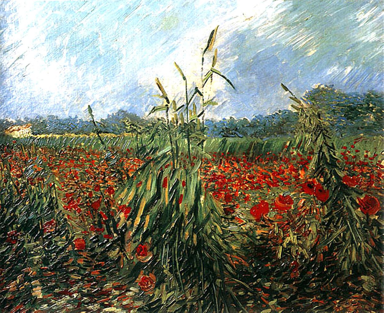 lonequixote: Green Ears of Wheat , 1888 ~Vincent van Gogh