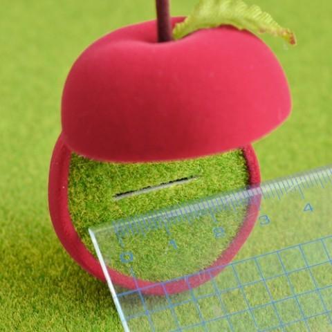 りんごの指輪入れ サイズ