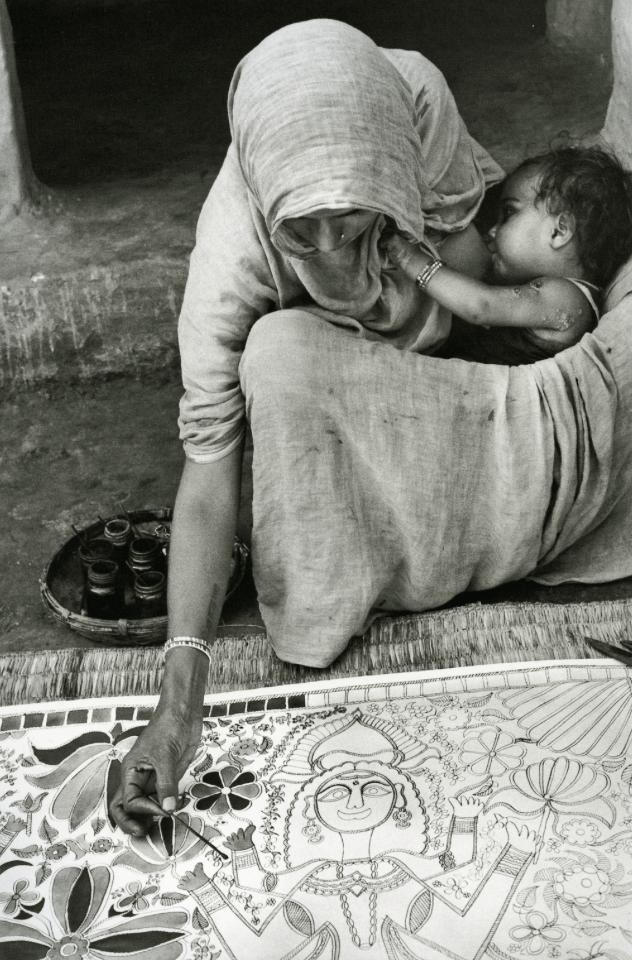 kvetchlandia:  Édouard Boubat  Mithila, India   1973