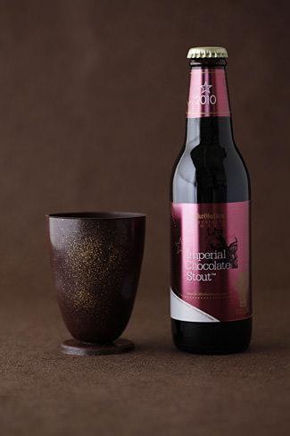 チョコレートビール&チョコレートグラス