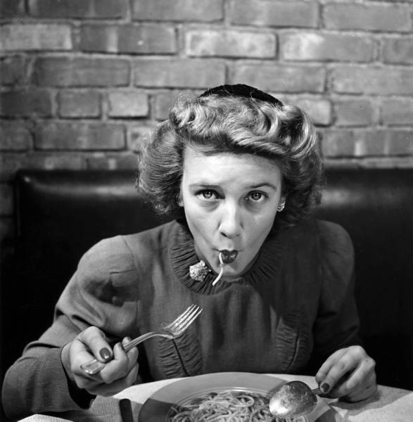 Image result for retro eating