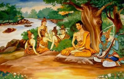 """Estaba el Buda meditando en la espesura junto a sus discípulos, cuando se acercó un detractor espiritual que lo detestaba y aprovechando el momento de mayor concentración del Buda, lo insultó lo escupió y le arrojó tierra.Buda salió del trance al instante y con una sonrisa plácida envolvió con compasión al agresor; sin embargo, los discípulos reaccionaron violentamente, atraparon al hombre y alzando palos y piedras, esperaron la orden del Buda para darle su merecido.Buda en un instante percibe la totalidad de la situación, y les ordena a los discípulos, que suelten al hombre y se dirige a este con suavidad y convicción diciéndole:-""""Mire lo que usted generó en nosotros, nos expuso como un espejo muestra el verdadero rostro. Desde ahora le pido por favor que venga todos los días, a probar nuestra verdad o nuestra hipocresía. Usted vio que en un instante yo lo llené de amor, pero estos hombres que hace años me siguen por todos lados meditando y orando, demuestran no entender ni vivir el proceso de la unidad y quisieron responder con una agresión similar o mayor a la recibida.  Regrese siempre que desee, usted es mi invitado de honor. Todo insulto suyo será bien recibido, como un estímulo para ver si vibramos alto, o es sólo un engaño de la mente esto de ver la unidad en todo"""".Cuando escucharon esto, tanto los discípulos como el hombre, se retiraron de la presencia del Buda rápidamente, llenos de culpa, cada uno percibiendo la lección de grandeza del maestro y tratando de escapar de su mirada y de la vergüenza interna.A la mañana siguiente, el agresor, se presentó ante Buda, se arrojó a sus pies y le dijo en forma muy sentida.No pude dormir en toda la noche, la culpa es muy grande, le suplico que me perdone y me acepte junto a Usted""""  Buda con una sonrisa en el rostro, le dijo: """"Usted es libre de quedarse con nosotros, ya mismo; pero no puedo perdonarlo""""El hombre muy compungido, le pidió que por favor lo hiciera, ya que él era el maestro de la compasión, a lo que el Bud"""