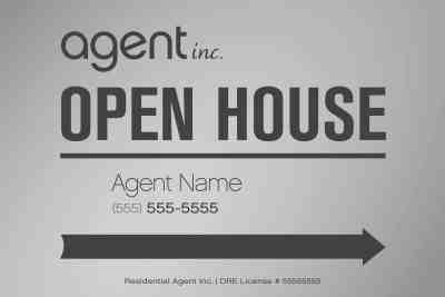 Agent Inc. Open House Template