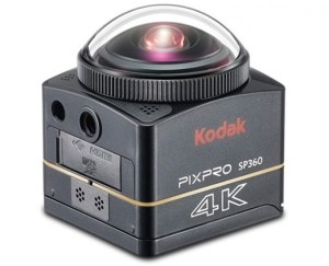 Kodak SP360 4K With waterproof Case