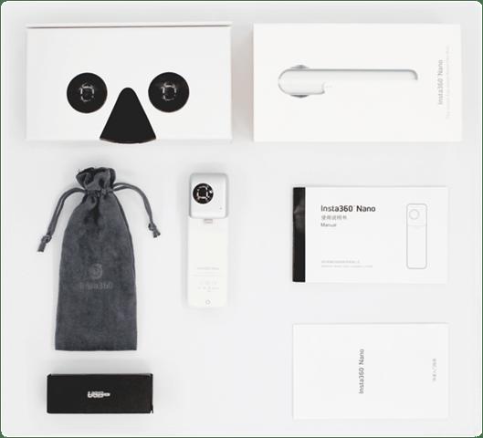 Insta360 Nano 360 accessories