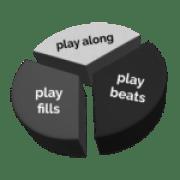 360drumsbook play along play beats play fills