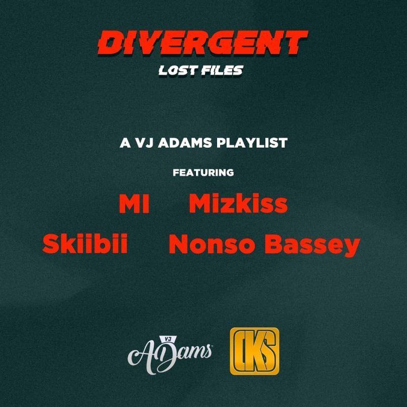 VjAdams Divergent Lost files EP