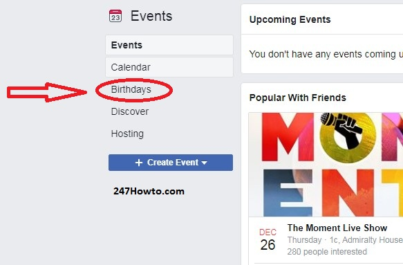 my friends birthdays