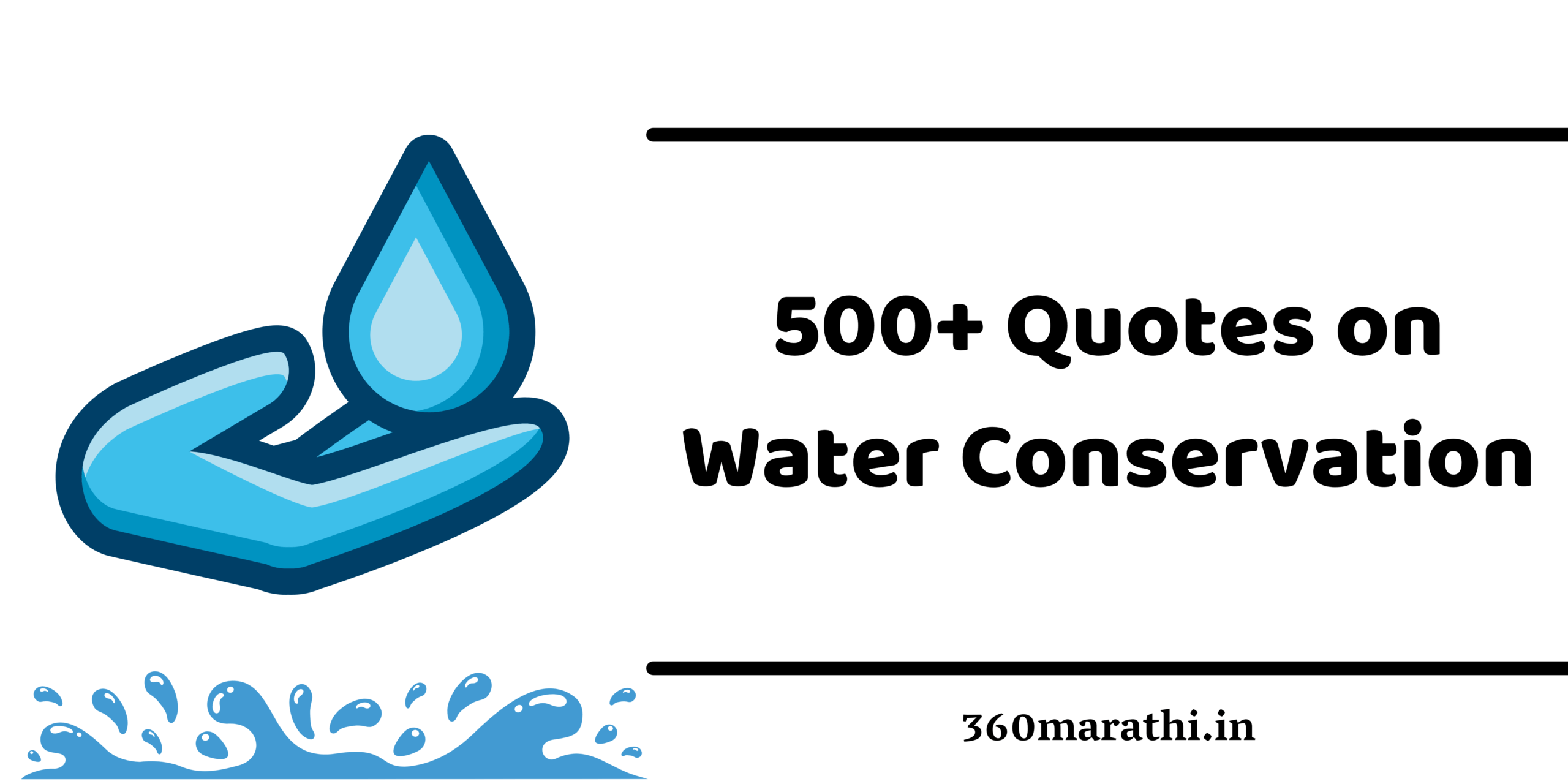 Save Water Quotes : 500+ Quotes on Water Conservation