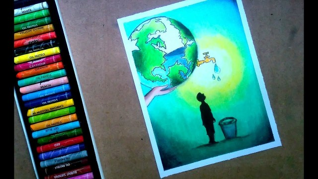 Save water drawings for competition 3 -