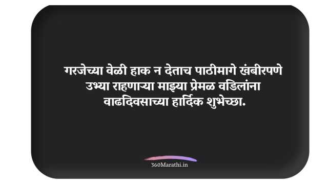 Birthday Wishes in Marathi For Father 5