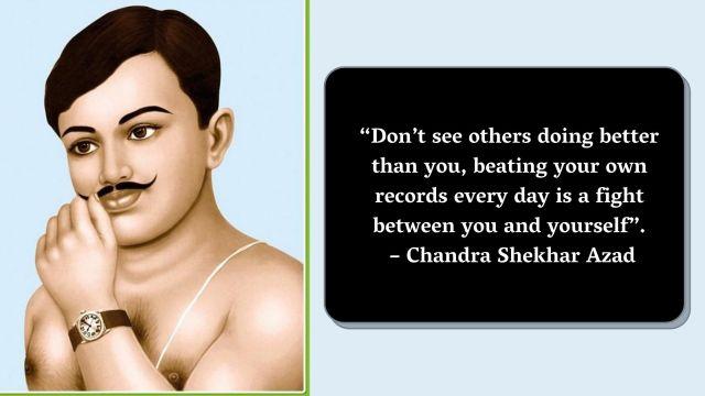 Chandra Shekhar Azad Jayanti Quotes Wishes Images in Marathi Hindi English 4 -