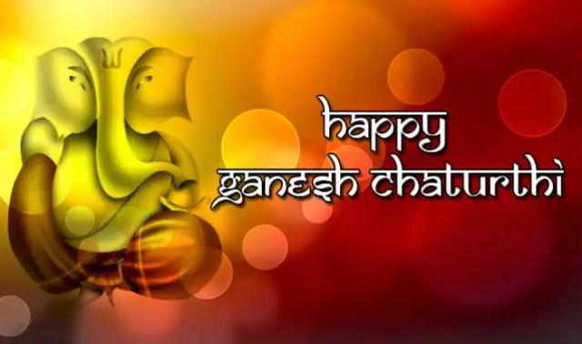 चतुर्थी मराठी बॅनर Ganesh Chaturthi marathi banner 3 -